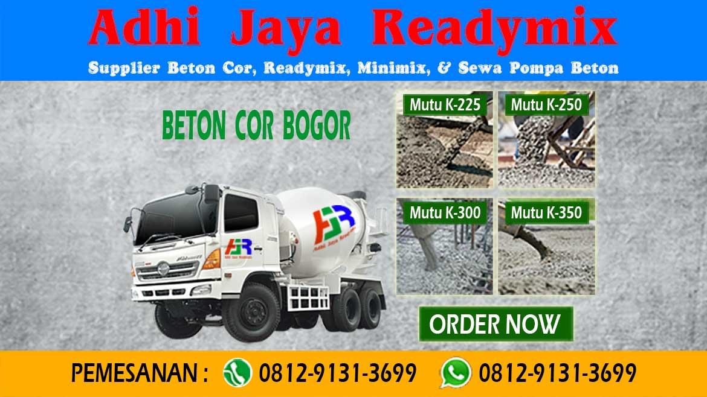 Harga Readymix Beton Jayamix Bogor